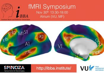 fMRI symposium – Friday November 30th, 13:30-18:00